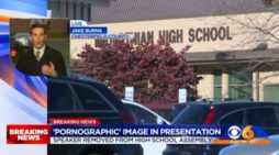 'That's Not Mine': Guest Speaker at High School Assembly Allegedly Shows Porn on Screen