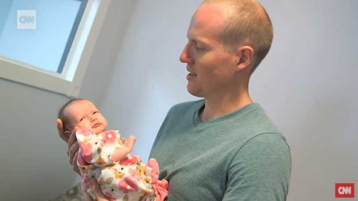 'I Was Led by God': Police Officer Adopts Homeless Drug Addicted Woman's Newborn Baby
