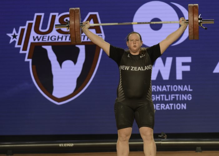 Man Who Identifies as Woman Lifts 600lbs, Wins Medal in Women's Weightlifting Competition