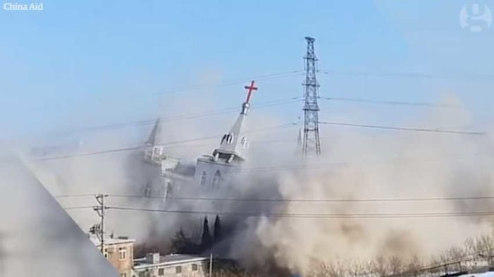 Unregistered Independent Church's Building Demolished by Chinese Communist Government: Video
