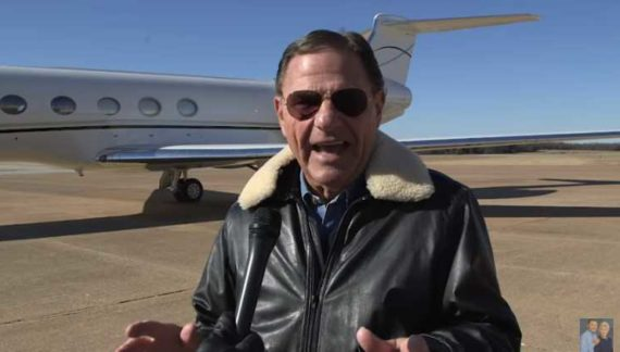 Prosperity Preacher Kenneth Copeland Acquires Private Jet Bought With Followers' Money, Has Goal of Raising $17 Million
