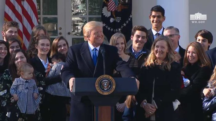 Trump Addresses 45th Annual March for Life: 'We Are With You All the Way'