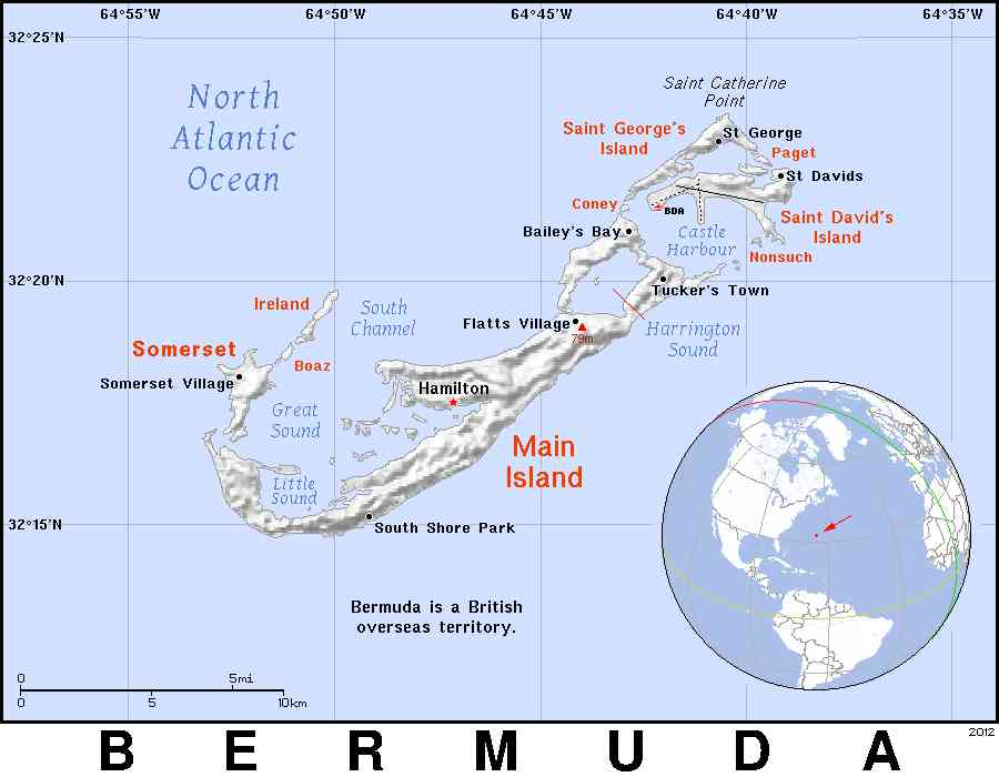 Bermuda becomes first country to repeal same-sex marriage