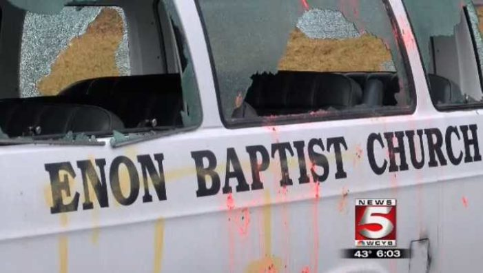 Five Teens Arrested for Multi-County Vandalism Spree That Included Damage to Church Property