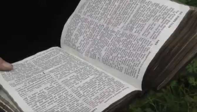 Fire Destroys South Carolina Home, But Bible Remains Intact Among Rubble