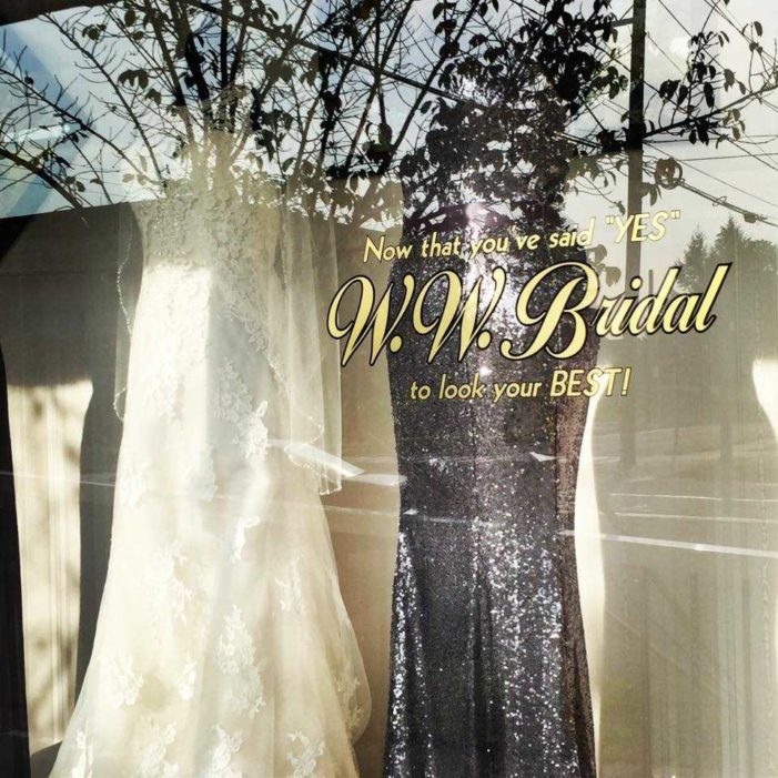 Bridal Shop Threatened for Declining to Assist With Lesbian 'Wedding' Closing Its Doors