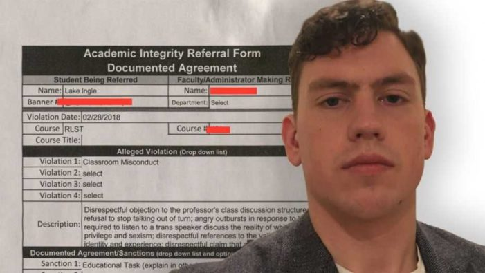 Student Booted From University's Religious Studies Course For Contending There Are Only Two Genders