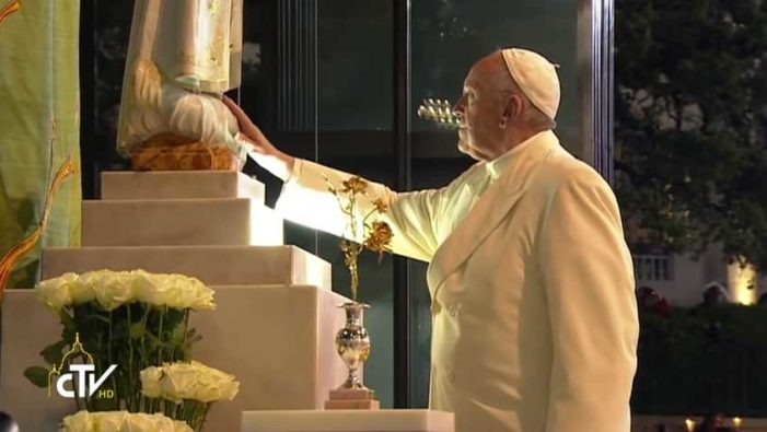 'Pope Francis' Decrees New Feast Day on Liturgical Calendar for Mary, 'Mother of the Church'