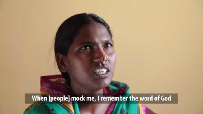 'I Remember the Word of God': Indian Woman Who Lost Husband, Son Holds to Faith Despite Persecution