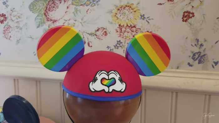 Disney Selling Homosexual-Themed 'Rainbow Love' Mickey Mouse Ears at Theme Parks
