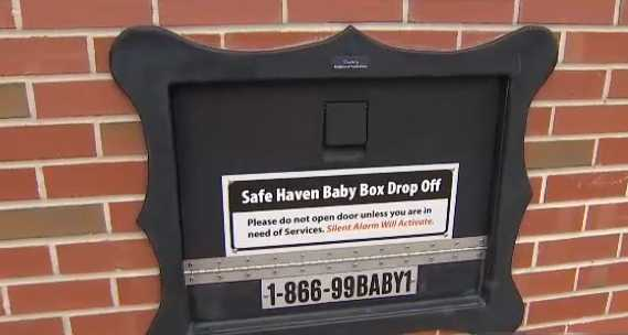 Infant found safe in 'baby box' in northwest Indiana