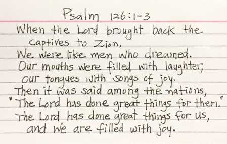 Korean American Detainee Freed From North Korea Hands VP Note With Psalm 126 Written on Back