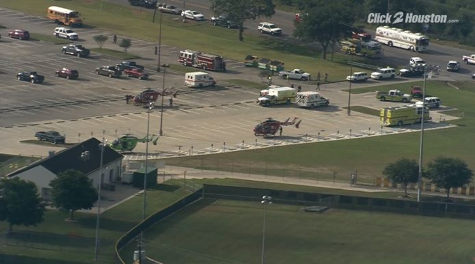 10 Killed in Texas High School Shooting; Explosive Devices Found