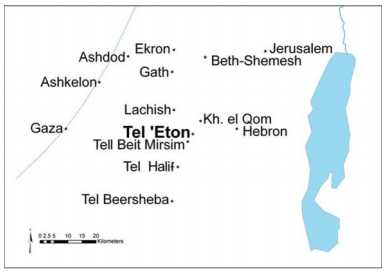 Ruins of Ancient Biblical City of Eglon Uncovered Near Hebron Hills of Israel