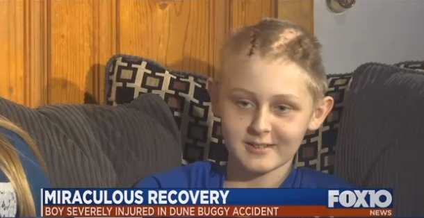 Boy regains consciousness after parents sign papers to donate organs