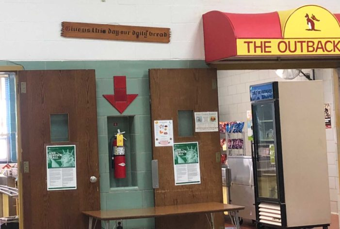 'Our Daily Bread' Sign Removed From Elementary School Cafeteria Following FFRF Complaint