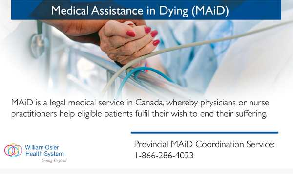 Canada Hospital Shows Euthanasia Ads in Urgent Care Waiting Room