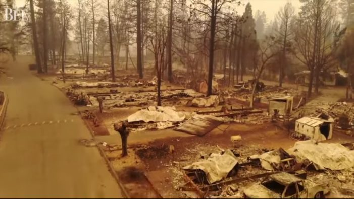 Drone Footage Shows Destruction of Paradise, California as Death Toll From Fire Rises to Over 50