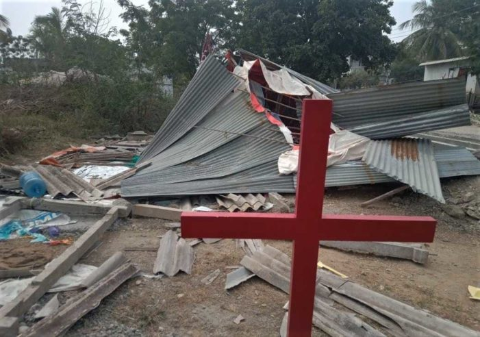 Hindu Version of Feng Shui Leads to Demolition of Church Building in Southern India