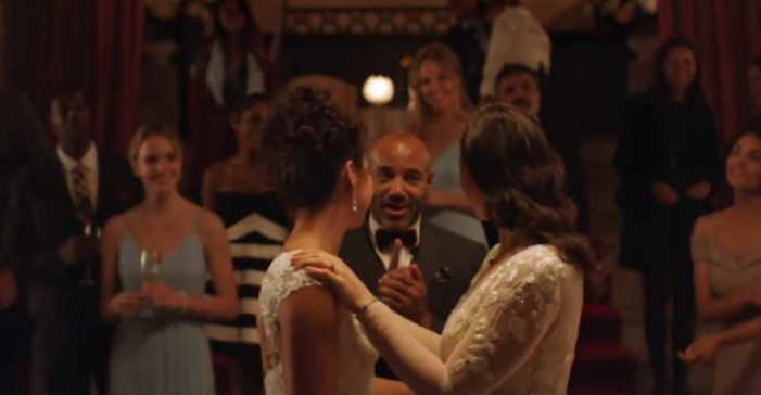 David's Bridal 'Rewriting the Rules' Ad Features Unwed Couple With Baby, Lesbian Brides