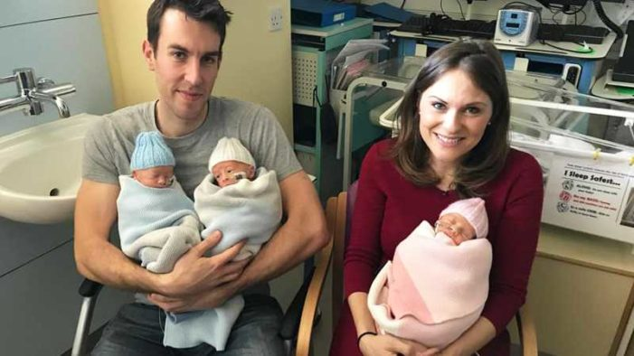 'We Had to Give Them All a Chance of Survival': Triplets Born After Mother Refuses Selective Reduction