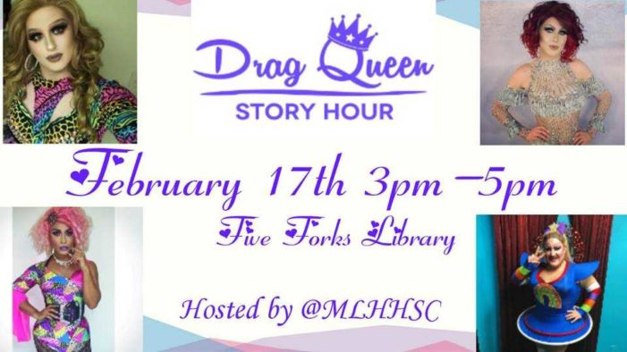 Committee Votes Against Bill That Would Have Prohibited 'Drag Queen Story Hour' in South Carolina's Public Libraries