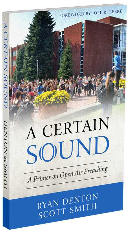 'A Certain Sound': New Book Challenges Christians, Churches to Think Biblically About Open Air Preaching