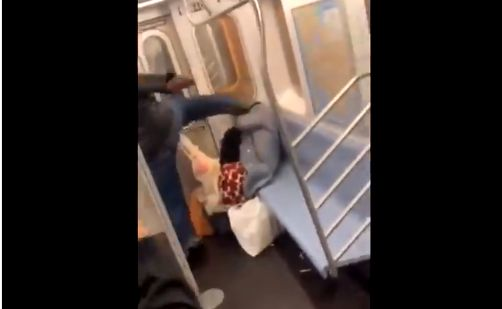 NY Police Arrest Man Who Kicked Elderly Woman in Face While Bystanders Recorded With Phones