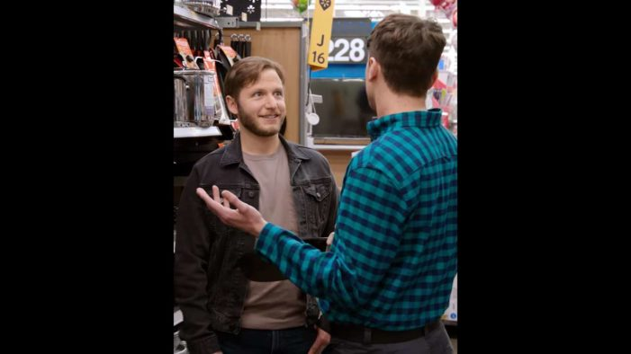 Walmart Releases 'Love Is in the Aisle' Video Depicting Two Men Meeting Up for 'Blind Date' at Store