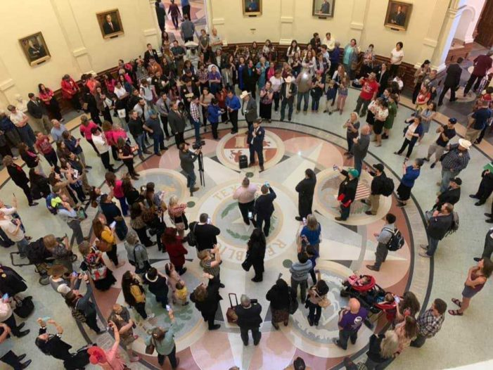 Hundreds Flocking to Texas Capitol to Testify in Support of Bill to Abolish Abortion in State