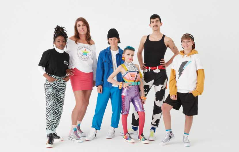 11 Year Old 'Drag Kid' Among 'Faces of Pride' for Converse