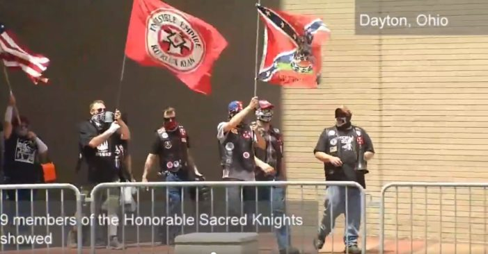 KKK Group Rallies in Ohio, Hundreds Counter-Protest