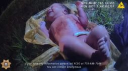 Video Shows Georgia Deputies Finding Baby Alive in Plastic Bag Abandoned on Side of Road