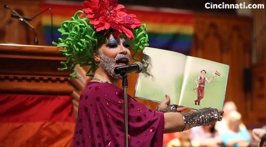 PCUSA 'Church' Caretaker Dresses in Drag, Reads Story on 'Harvey Milk and the Rainbow Flag' During Service