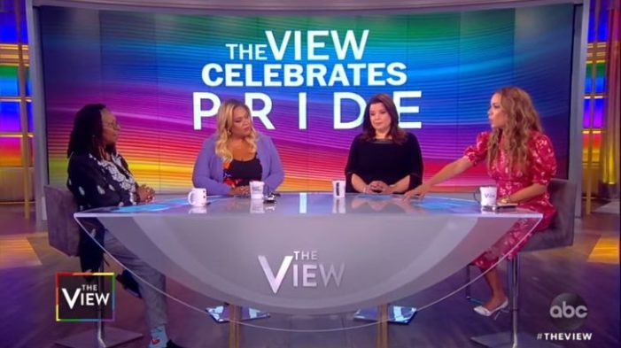 'The View' Co-Host Sunny Hostin Claims: Jesus Would Attend a Homosexual Pride Parade