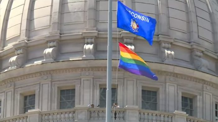 Wisconsin Governor Orders Rainbow Flag to Fly Over Capitol for First Time in State History