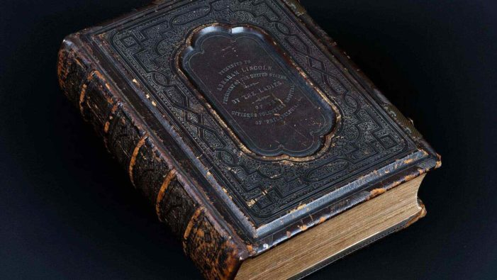 Another Abraham Lincoln Bible Surfaces, Offers Clues to His Religious Beliefs