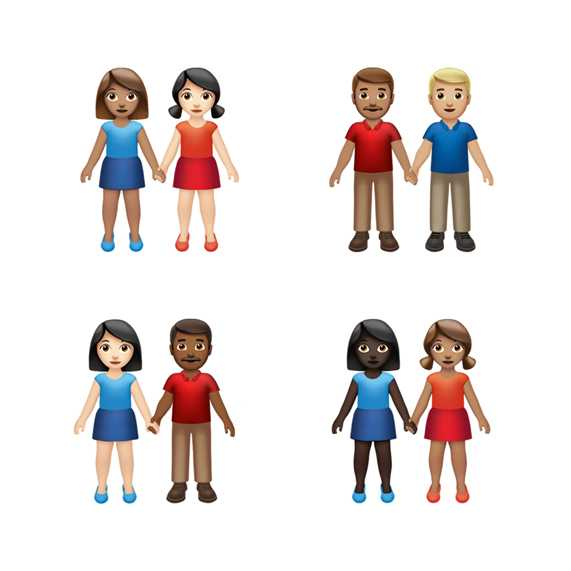 Apple to Roll Out New Options for 'Holding Hands' Emojis in Push for 'Inclusion and Diversity'