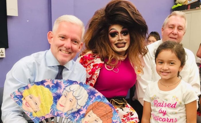 NYC Council Members Host Drag Queen Story Hour to Celebrate Funding Increase for City Libraries
