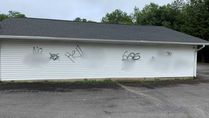 Tennessee Church Vandalized With Racial Slurs, Vulgar Images