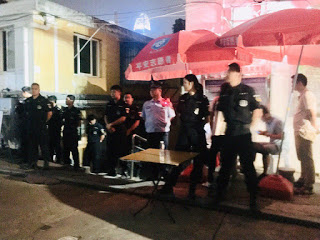 Chinese Police Form Human Wall Surrounding Xunsiding Church After Shutdown