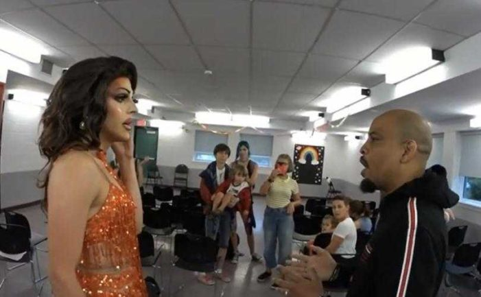 Parents Boo as Christian Street Preacher Confronts Drag Queen at Story Time