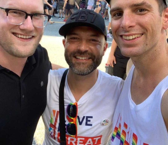 After Kissing Christianity Goodbye, Joshua Harris Marches in Vancouver Pride Parade