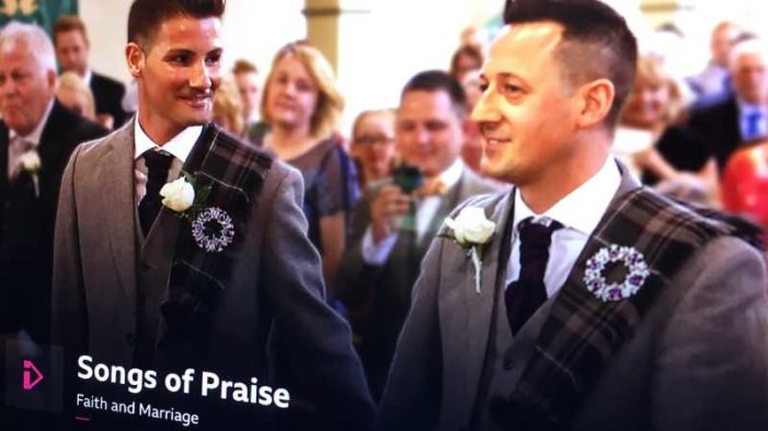 BBC Flooded with Complaints Over 'Songs of Praise' Episode Featuring Same-Sex 'Wedding'