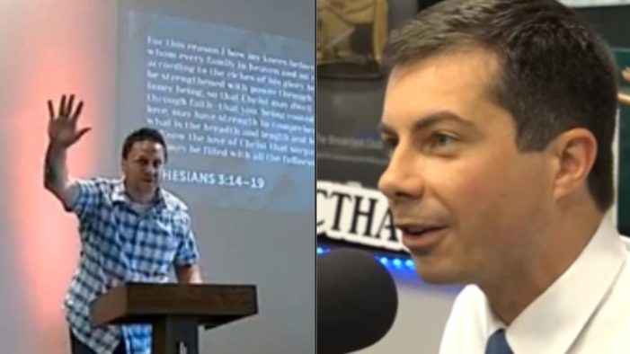 Pete Buttigieg's 'Brother-in-Law' Says Candidate Has 'Manipulated' the Bible, Calls on Him to Repent