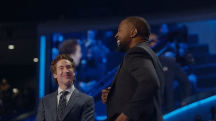 Kanye West Defends Joel Osteen to Standing Ovation During Lakewood Service: 'God Is Not the Negative Part'