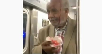 Man Who Identifies as Woman Bloodies 79-Year-Old Man With Stiletto Heel for Preaching On NY Subway