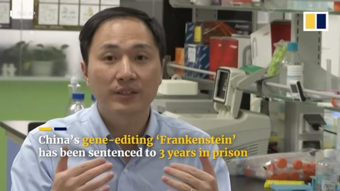 China's Gene-Editing Scientist Jailed for Three Years in Modified Baby Case