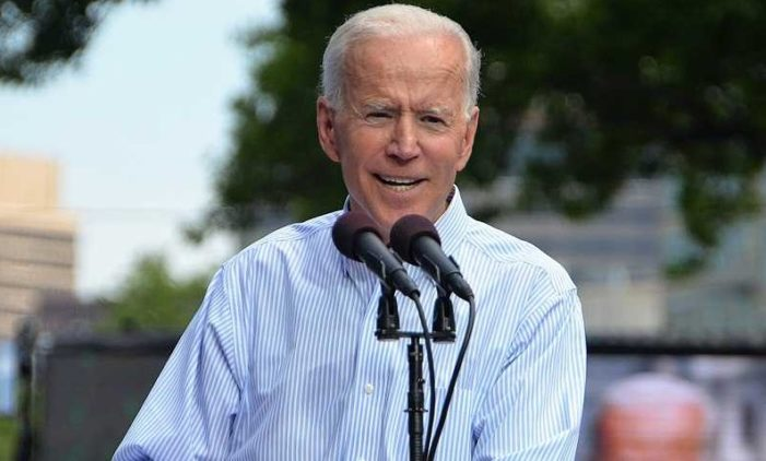 Democratic Presidential Candidate Joe Biden Claims: 'Transgender Equality Is Civil Rights Issue of Our Time'