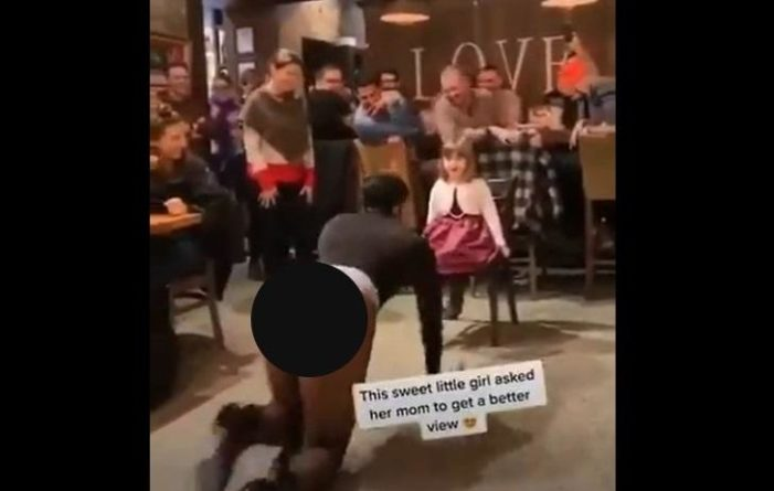 'Disgusting, Despicable, Depravity': Drag Queen With Exposed Buttocks Dances for Child While Adults Approve